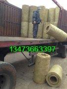 大规格岩棉保温管